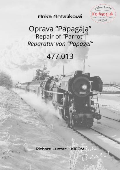 "Titulný list knihy Oprava ""Papagája"" 477.013"