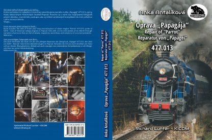 Obálka knihy Oprava Papagája 477.013 -celá