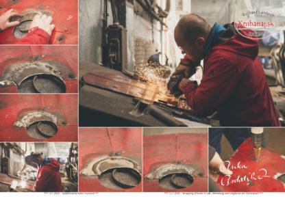 Preview Repair of Parrot 477.013 - Covering of boiler in cab