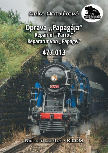 Reparatur von Papagei 477.013 -Buchdecke